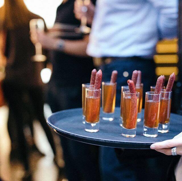 Sausage & Vodka Shots