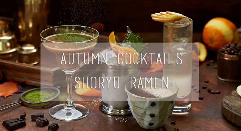Autumn Cocktails at Shoryu Ramen
