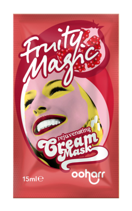 ooharr_cream_face_mask_sachet_fruity_magic_visual3