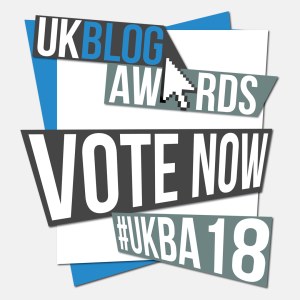 CLICK TO VOTE FOR ME IN THE UKBA18